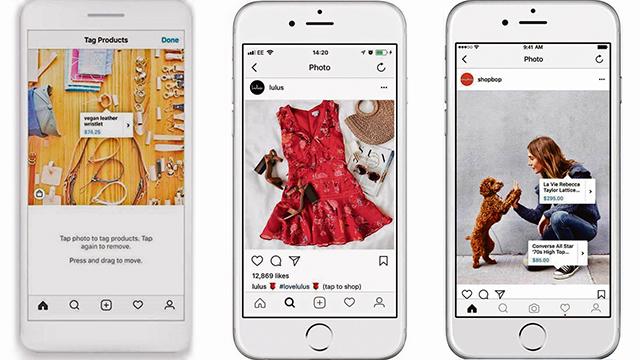 El proceso permitirá a Instagram y su empresa matriz, Facebook, cobrar a sus proveedores una comisión de hasta el 5% por cada venta.