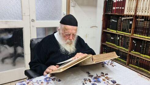 El rabino Jaim Kanievsky.