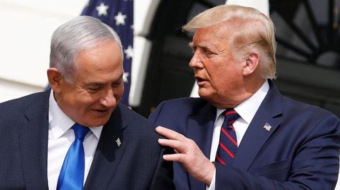 El primer ministro israelí espera una victoria de su amigo Trump.