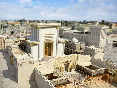 No existe una tradición clara y continua en cuanto a la ubicación exacta del Templo en el Monte del Templo.