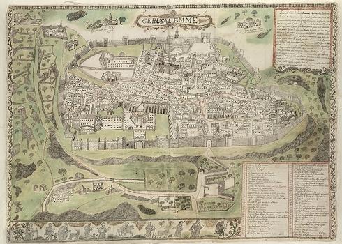 """""""Cuando el gobierno se convirtió en bizantino, la ciudad se convirtió en un santuario y un ex territorio de los judíos""""."""