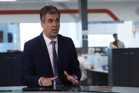 Eli Cohen, ministro de Inteligencia.