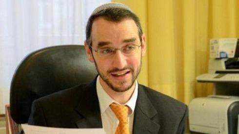 El rabino de Viena, Yaron Engelmeier.