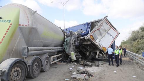 Un accidente fatal entre dos camiones en octubre.