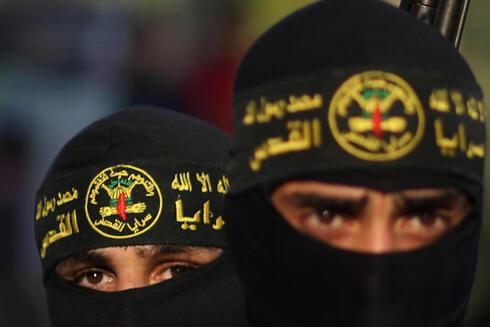 Activistas de la Yihad Islámica en Gaza.