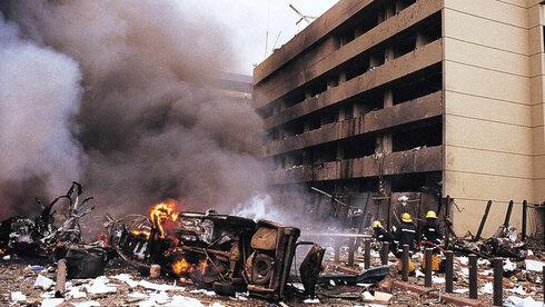 Atentado contra la Embajada de Estados Unidos en Kenia, en 1998.