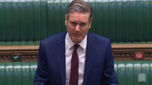 El líder del Partido Laborista, Sir Keir Starmer.