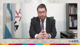 Acto por judíos desaparecidos en AMIA.