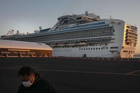 El crucero Diamond Princess, con miles de infectados dentro.