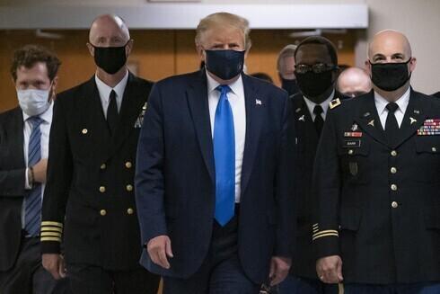 Trump fue hospitalizado en el Hospital Walter Reed de Maryland.