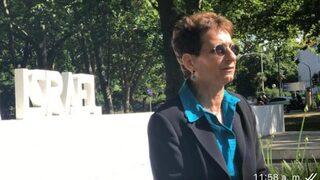 La embajadora Galit Ronen, en Palermo, Buenos Aires.