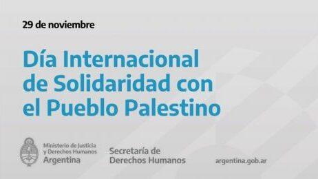 Flyer de la Secretaría de DD.HH. argentina.