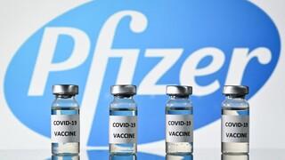 Viales de la vacuna de Pfizer.