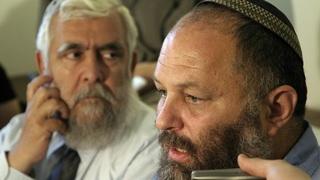 Effi Eitam, en 2004, cuando era líder del Partido Religioso Nacional. Su nombramiento al frente de Yad Vashem despertó polémica.
