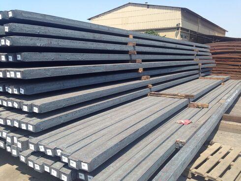Varillas de hierro para la industria de la construcción a partir de envases de metal.