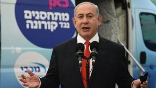"""Benjamín Netanyahu: """"Estamos comenzando a ver el fin de la pandemia""""."""