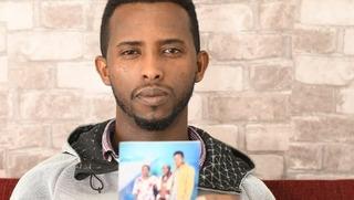 Orti Tadasa espera que sus hermanas lleguen pronto a Israel.