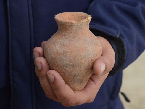 Uno de los hallazgos en Tel Erani.