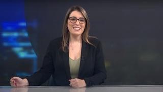 Ronit Nates, conductora del noticiero de ILTV.