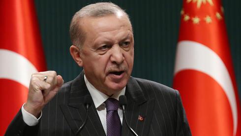 El presidente de Turquía, Recep Tayyip Erdogan, hablando en Ankara a mediados de diciembre.