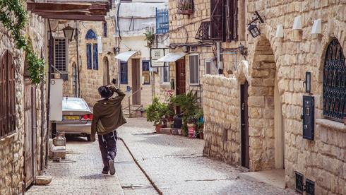 La ciudad norteña de Safed es un destino popular para el turismo en Israel.