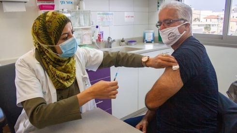 Campaña de Vacunación en la prestadora Clalit.