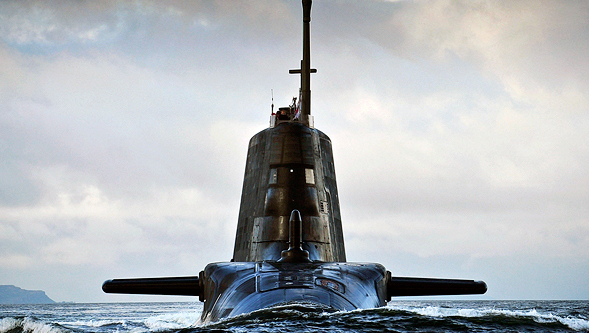 Submarino de la Royal Navy.