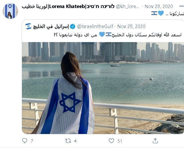 Lorena Khateeb, activista en el esfuerzo de Israel para cortejar al mundo árabe.