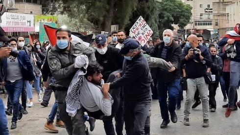 Protestas en Nazaret.