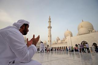 Abu Dhabi, capital de Emiratos Árabes Unidos.