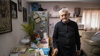 Chaim Margulis sufre de soledad y abandono en plena pandemia.