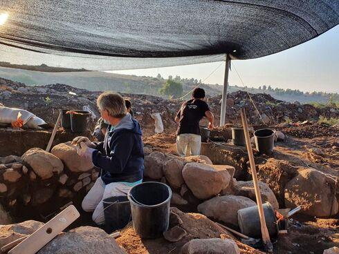 Trabajos de excavación.