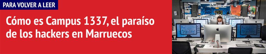Banner hackers en Marruecos