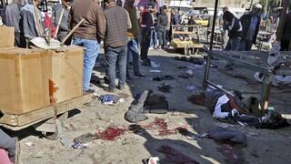 Sangre y destrucción en el centro de Bagdad.