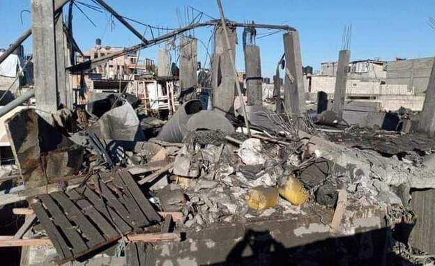 el domicilio de la explosión pertenecería a un militante de la Yihad Islámica.