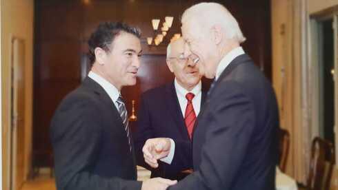 El jefe de Mossad, Yossi Cohen, y el presiente de Estados Unidos, Joe Biden.