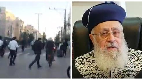 El gran rabino sefaradí de Israel, Itzchak Yosef, condenó los violentos incidentes llevados a cabo por extremistras ultraortodoxo.