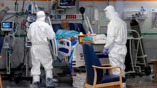 Sala de atención por coronavirus del Hospital Sheba.