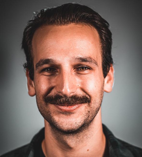 El mentor de la Fundación Ramon, Kovi Rose.