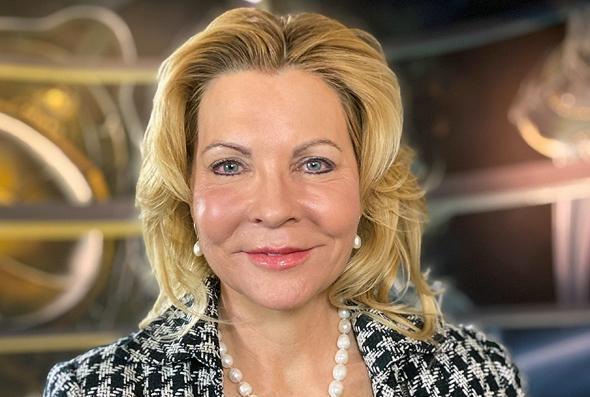 La director de operaciones de la Fundación Espacial, Shelli Brunswick.