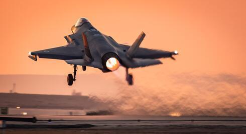Un avión de combate israelí.
