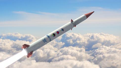 Ilustración del misil Arrow-4.