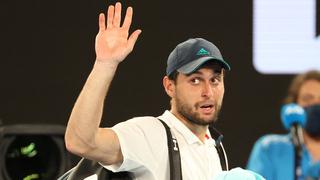 El tenista ruso israelí se despidió de Australia tras hacer un gran torneo.