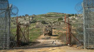 Frontera entre Israel y Siria.