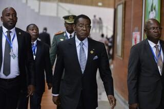 Teodoro Mbasogo, presidente de Guinea Ecuatorial.