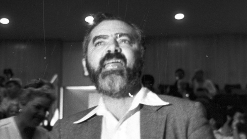 El rabino racista Meir Kahane, líder del movimiento ilegal Kach.
