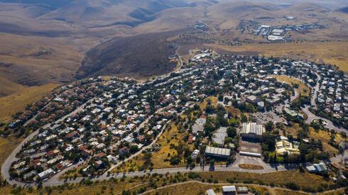 El asentamiento Ma'ale Efrayim, en Cisjordania.