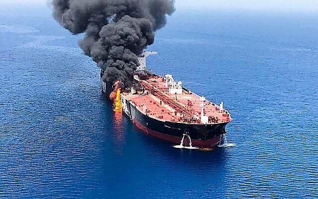 El buque viajaba desde Dammam, una ciudad portuaria del este de Arabia Saudita, hasta Singapur.