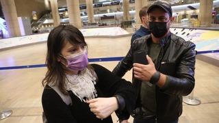 Brazaletes electrónicos, un nuevo sistema para controlar el aislamiento de los israelíes que regresan al país.
