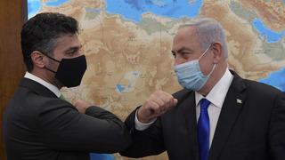 Al Khajah Embajador Emiratos Netanyahu